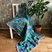Water Lilies Blanket pattern