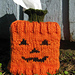 Jack O' Lantern Tissue Box Cozy pattern