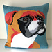 Will the Boxer Dog Cushion Cover pattern