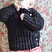 Tadpole's Purple Sweater pattern