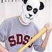Panda Ski Mask pattern