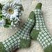 Sea of Flowers Socks pattern