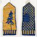 Lone Pine Mittens pattern