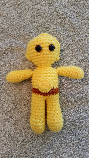 Amigurumi Star War Yoda Free Crochet Patterns | Crochet patterns ... | 640x360