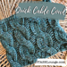 Quick Cable Cowl pattern