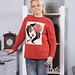 Intarsia sweater pattern