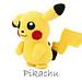 Pikachu (pokemon) pattern