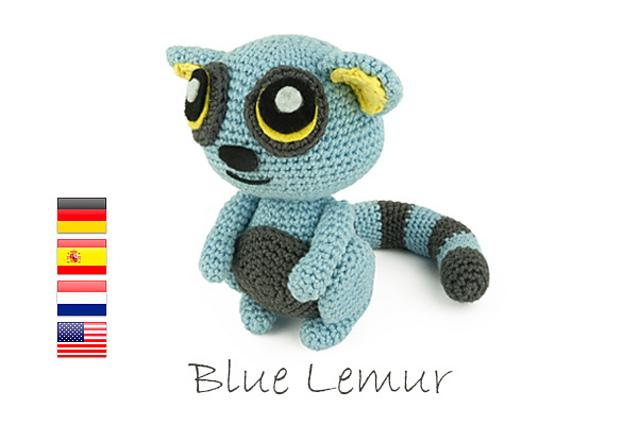 Ravelry: Blue Lemur pattern by Sabrina Somers | 425x640