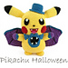 Pikachu Halloween (Pokemon) pattern