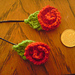 Rose pins pattern