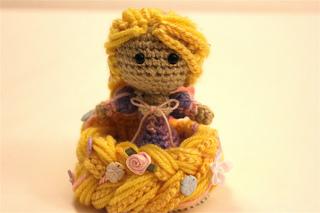 CROCHET PATTERN Rapunzel Doll // Storybook Crochet Pattern // Doll ... | 213x320