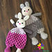 Ellie the Ragdoll Bunny pattern
