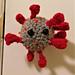 Coronavirus Doorknob Cozy pattern