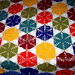 JOY: Hexagon and triangle blanket pattern