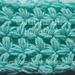 Jasmine Stitch No. 1- 4 petals with puffs in rows pattern