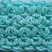 Jasmine Stitch No. 3- 6 petals with puffs in rows pattern