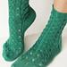 Waterfall Socks pattern