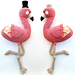 Nicola and Phineas Flamingo pattern