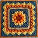 Hera Afghan Square pattern