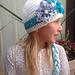 Frozen Inpired Elsa Hat with Snowflake pattern