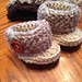 Chunky Russian Style Baby Booties pattern