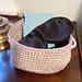 Peekaboo Squared Basket pattern