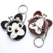 Bulldog and Cat coin purse pattern