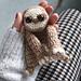 Baby Sloth mini Ragdoll pattern