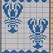 Potholder Lobster 1 pattern