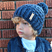 Kindness Is Cool Beanie pattern