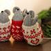 Nordic Christmas Mice pattern