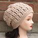 Celine Slouch Hat pattern