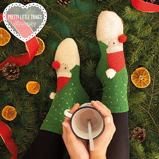 Santa's Socks by Rhian Drinkwater, featured in Pretty Little Things, Issue 10 FESTIVE