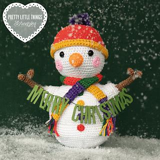 Wobbly Snowman by Matt Farci, featured in Pretty Little Things 10 Festive.