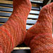 Twisted Tweed Socks pattern