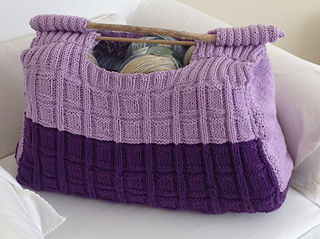 Ravelry: Knitting and Sewing Craft Project Bag pattern by ...