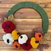 Crochet Pumpkin Wreath pattern