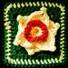 "Narcissus 6"" afghan block pattern"