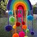 Pompom Rainbow pattern