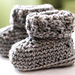 The Parker Baby Booties pattern
