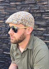 Men's golf cap crochet pattern