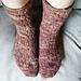 Joyful Lace Socks pattern