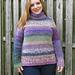 Moonstruck Pullover pattern