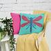 Daring Dragonfly Cushion pattern