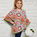 Flower Power Poncho pattern