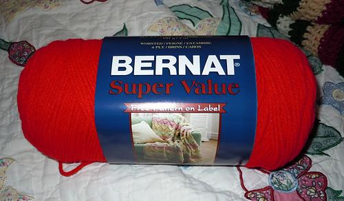 Bernat Super Value Yarn 7 oz Gauge 4 Medium Worsted Soft Grey