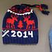 Team USA Sochi Hat pattern