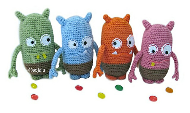 Jelly Bean Monsters