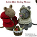 Little Red Riding Mouse pattern
