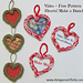 How To Make An I-Cord Heart  pattern